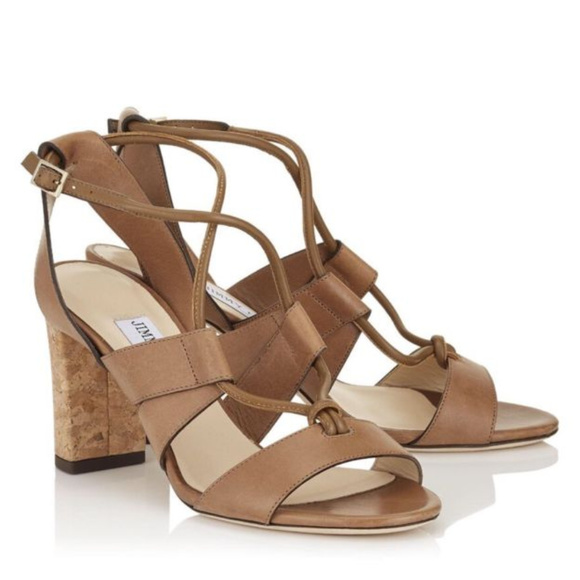 1ced52d9a1d Jimmy Choo Margo Cork Sandals